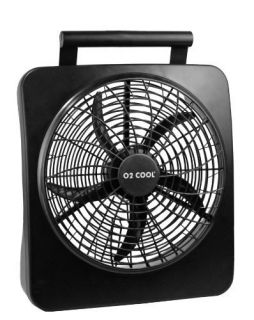 New Cool 10 Battery Operated Electric AC Adaptor Portable Fan Indoor