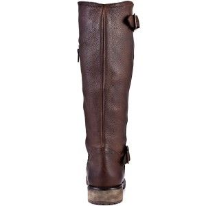 NEW Steve Madden  Womens Fairport Brown Leather Boots Size 8.5