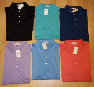 Men's Peter Millar Golf Shirts Sz XL $85