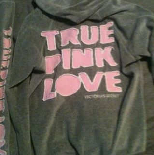 Victorias Secret Pink Velour Sweatsuit