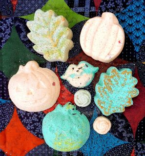 FALL THEME   Bath Bombs/Hostess Gift/ Party Favor  Made w/ Rose Hip