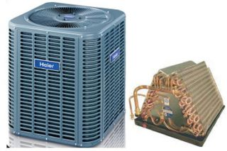 13SEER Mobile Home Condensing Unit Evaporator Unit Combination