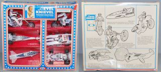 evel knievel 1977 ideal mib die cast 6 six pack rare