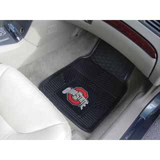 FANMATS Automotive Mats Ohio State University Buckeyes