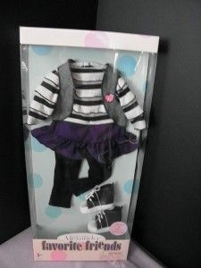 Favorite Friends Outfit fits American Girl Gotz & 18 Play Dolls NIP