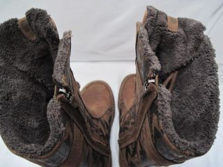 Teva Kiru Boot Print Carafe Winter Boots Womans Size US 5 5 Euro 36 5