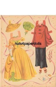 vintge faye emerson paper dolls lazer rpro org sz