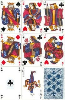Doubledeck VINTAGE French Playing Cards   CLASSIQUE   DRAEGER   1950s
