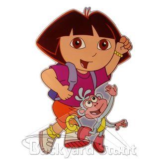 New Dora Boots Wall Sticker Cartoon Kids Children Room Decoration USA