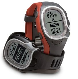 Fitness Red Sport Watch Running Cross Training w Heart Rate Monitor