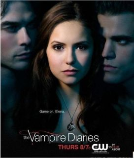 Hot TV Play Vampire Diaries Elena Vervain Silver Pretty Crystal