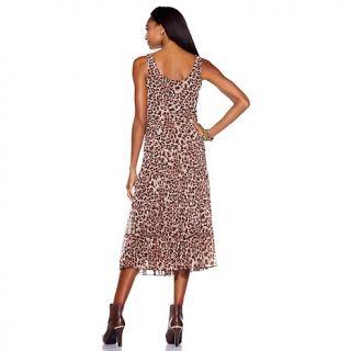 Jessica Howard Womens Scoop Neck Multi Tier Dress