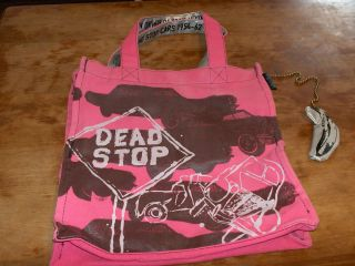 Andy Warhol Dead Stop New York City Canvas Tote by Loop RARE