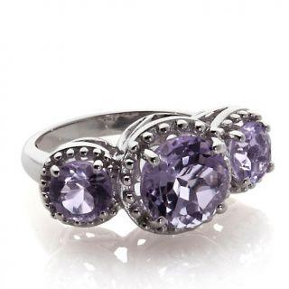 Jewelry Rings Gemstone Rarities 4ct 3 Gemstone Sterling Silver