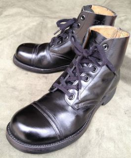 1961 Endicott Johnson Cap Toe Ankel Boots New Vintage Deadstock