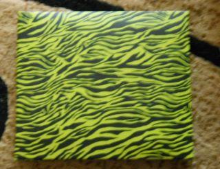 Zebra Animal Print Hardback Paper Studio EXPANDABLE 7 5x6 5 Photo