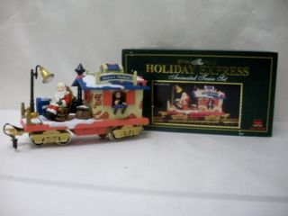 The Holiday Express Animated Train Set Post Office Car 380 1