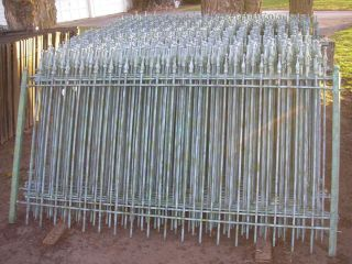 Wrought Fencing Steel Fence Price Includes Posts