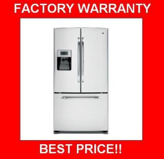 GE® Energy Star® 25 9 CU ft French Door Refrigerator Stainless Out