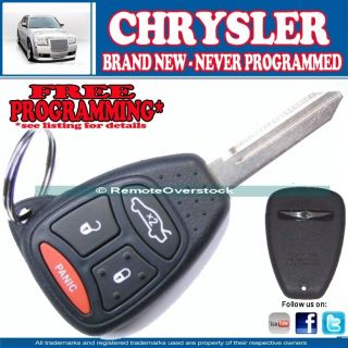 SEALED Chrysler 4 Button Keyless Remote Key Fob FCC ID KOBDT04A