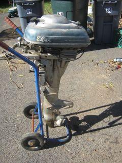 12 HP Elto Speedster Evinrude Outboard Motor