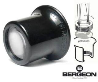 Swiss Bergeon 4422 Eye Loupe Eyeglass Magnifier Lens Watch Jewelry