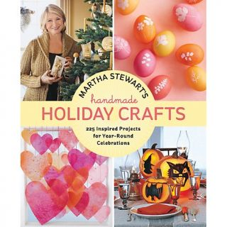 Martha Stewart Handmade Holiday Crafts   225 Project Book