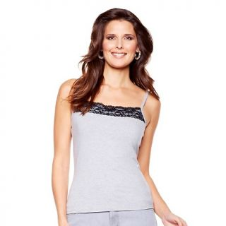 229 846 diane gilman stretch cami with lace trim rating 1 $ 29 90 s h