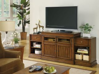 Entertainment Wall Unit Warm Chestnut Tommy Bahama Gift Card
