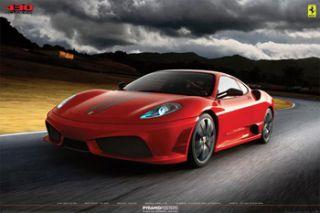 Ferrari F430 Scuderia Apocalypse Official Car Poster