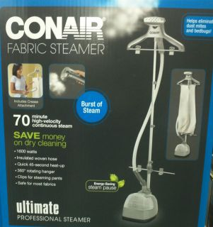 Conair Fabric Garment Clothes Steamer Professional Quality Her Lady