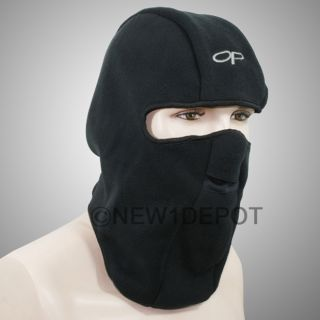 BLACK SNOWBOARD NEOPRENE FULL FACE MASK COVER HAT PROTECTOR MOTORCYCLE