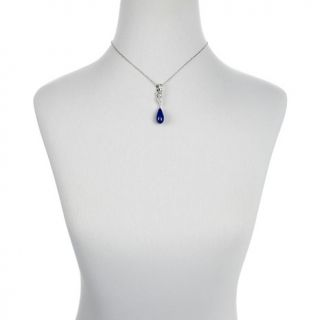227 911 victoria wieck blue lapis and white topaz sterling silver