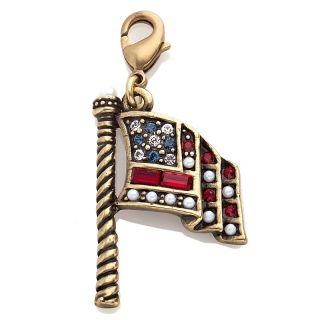220 537 heidi daus july american flag crystal charm rating 1 $ 59 95 s