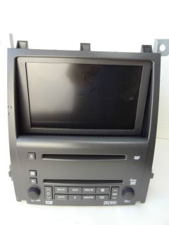 Cadillac GM in Dash Navigation DVD System Radio 6 CD Disc