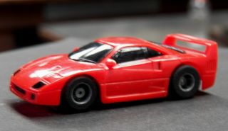 Ferrari F40 Tyco HO Slot Car Red