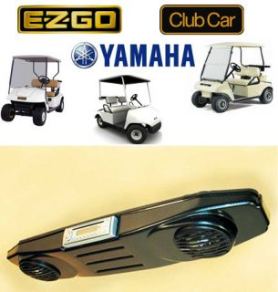 EZGO Club Car Yamaha Golf Cart Overhead Radio Console Carbon Fiber