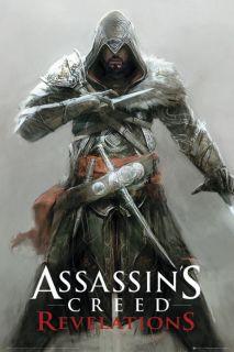 Assassins Creed Revelations Ezio New Gaming Poster