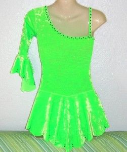 New Elegant Ice Skating Dress Girl All Size Available