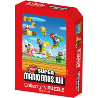Nintendo Super Mario Wii 550 Piece Puzzle