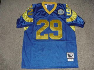 Eric Dickerson Signed Los Angeles Rams Jersey PSA DNA Authentic Exact