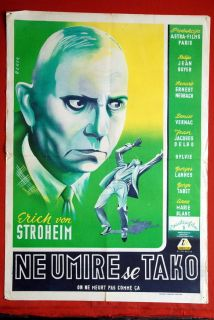 One Does not Die Erich Von Stroheim 1946 Marie Blanc Jean Boyer Yu