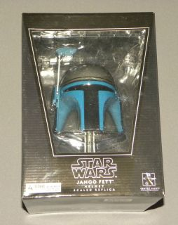 Gentle Giant Star Wars Film Prop Replica Scaled Jengo Fett Helmet New