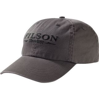 Filson Chino Low Profile Cap with Filson Logo Sage New