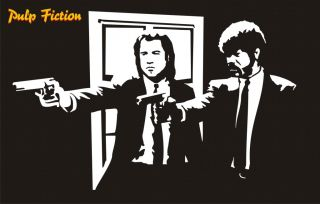 Pulp Fiction Vinyl Wall Art Sticker Decals Graphics