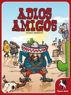 Adios Amigos Desperado Board Card Family Game Pegasus Spiele Momo