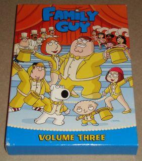 Family Guy Volume 3 3 DVD Set