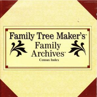 Family Tree Maker Family Archives Census Index U.S. Selected States