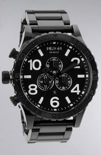 Nixon The 5130 Chrono Watch in All Black