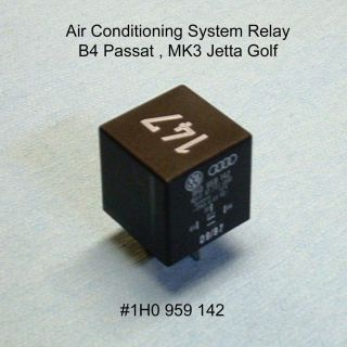 VW Audi Air Conditioning Fan Relay 147 B4 Passat MK3 Jetta Golf A C